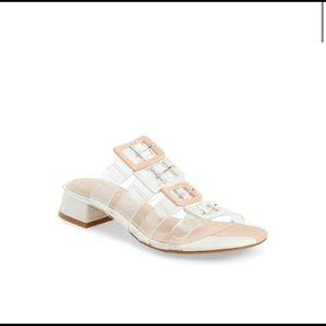 CECELIA NEW YORK | lucite Slide sandal Lincoln